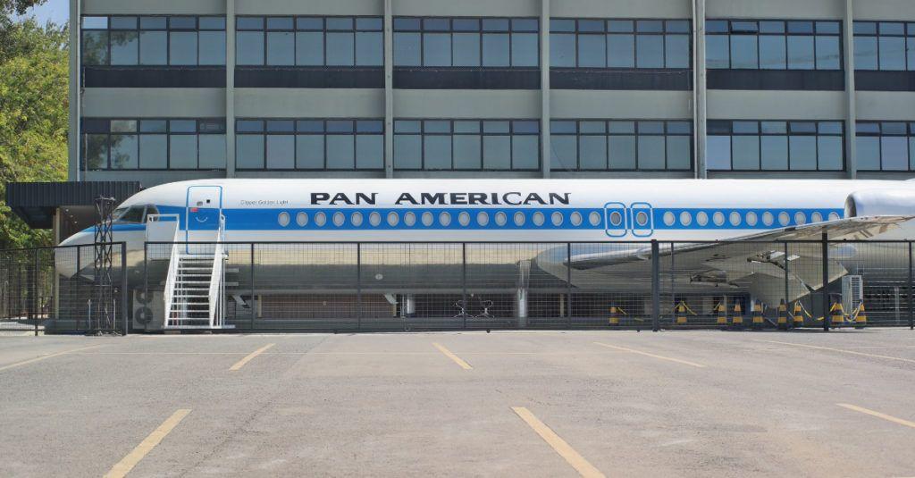 Pan Am Brasil Fokker 100