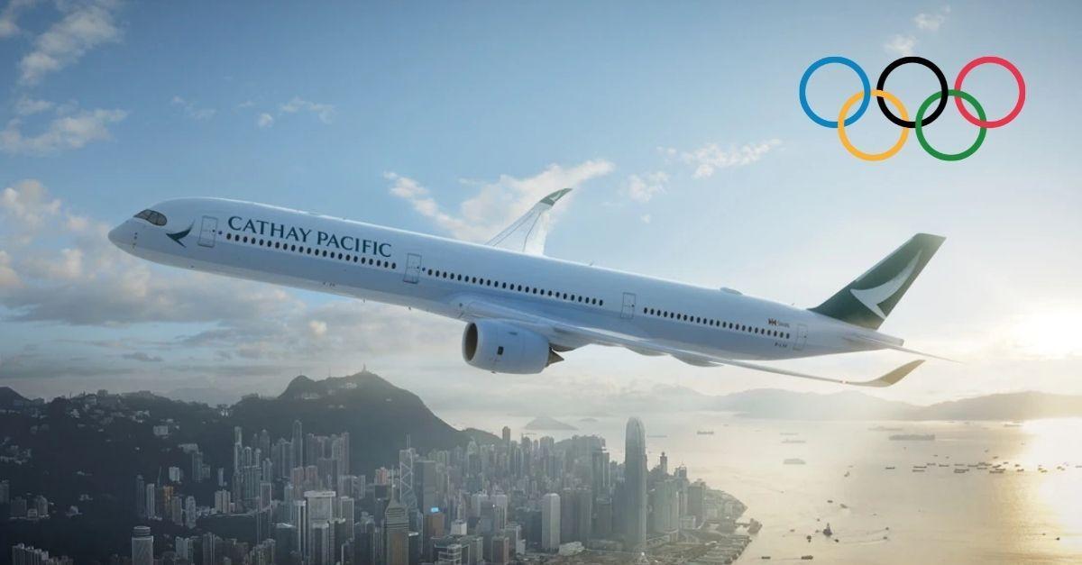 Cathay Pacific Olimpiadas