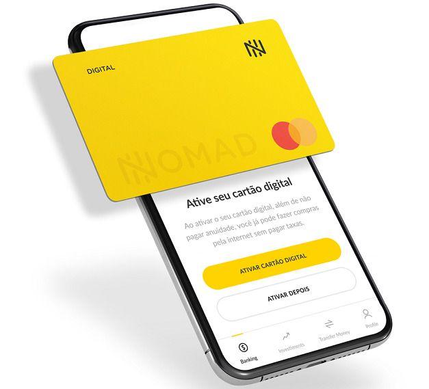 nomad cartão débito