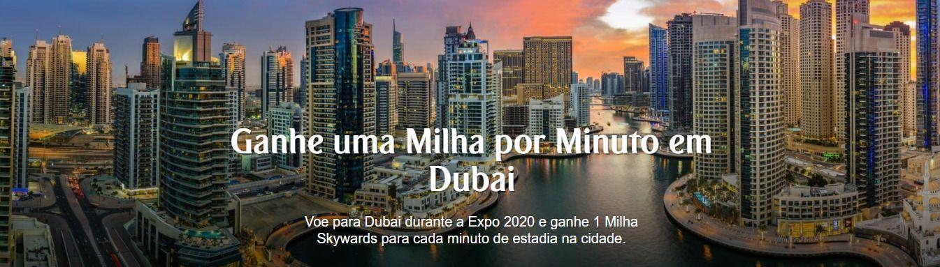 Emirates Dubai milha minuto