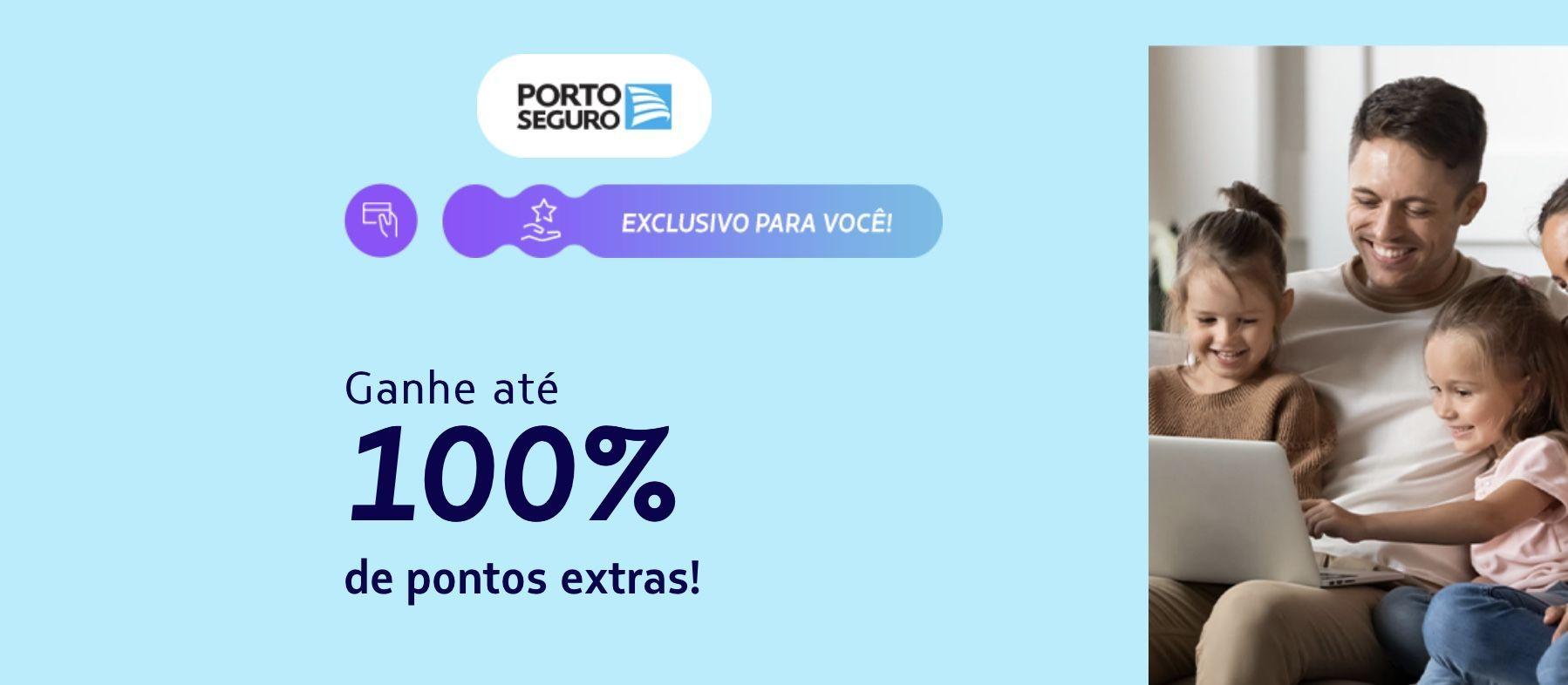 LATAM bônus 100% porto