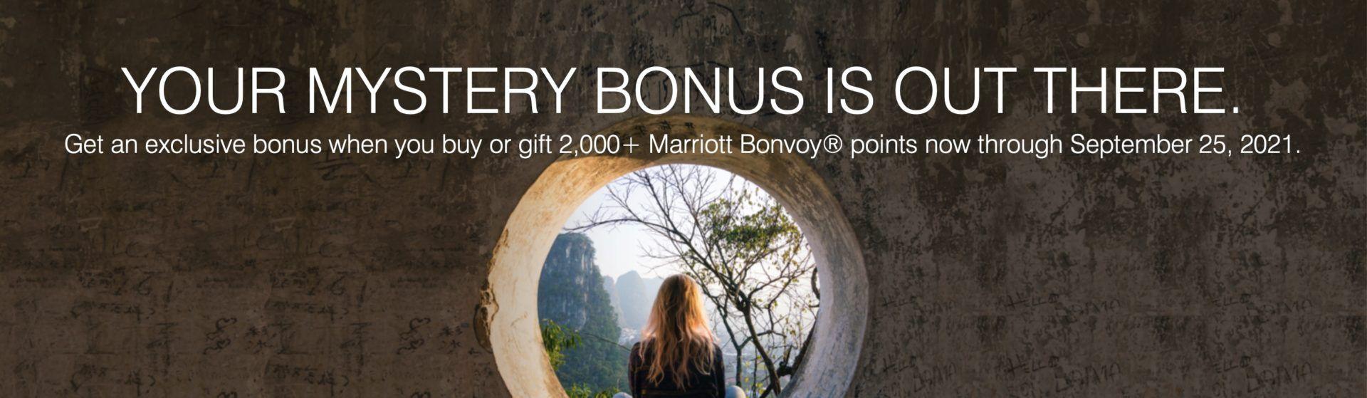 Bonvoy bônus compra pontos