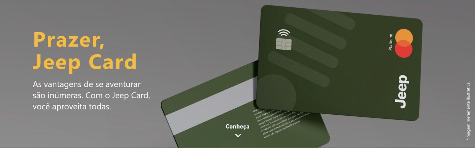 Jeep Mastercard cartão crédito