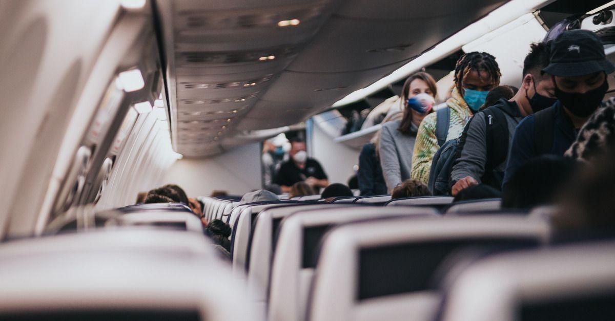 Máscara EUA Avião-2