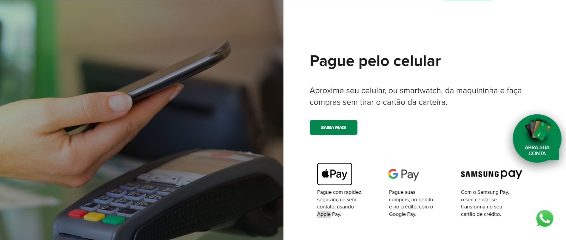 Apple Pay banco original 1