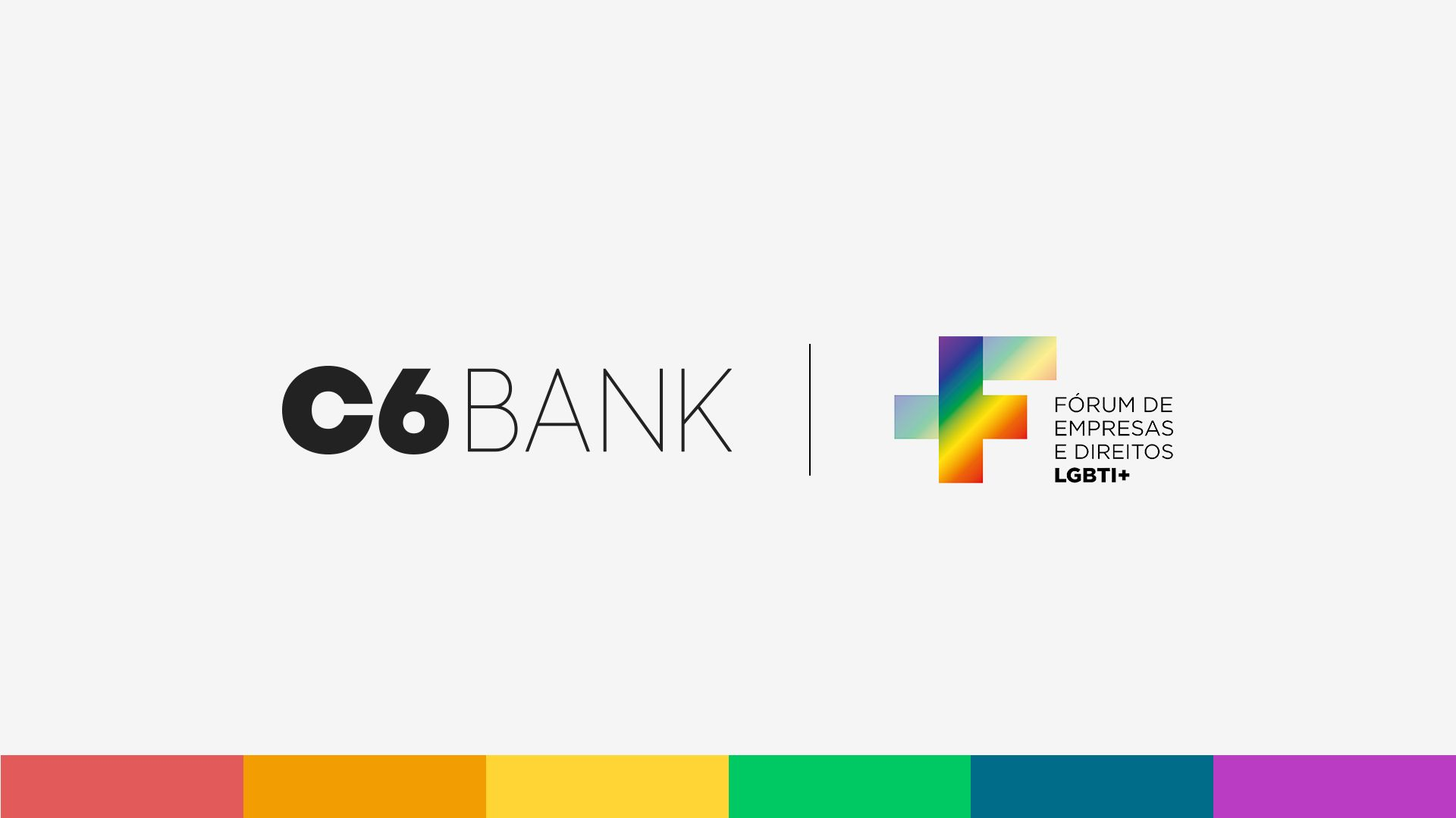 C6 Bank cartão Rainbow