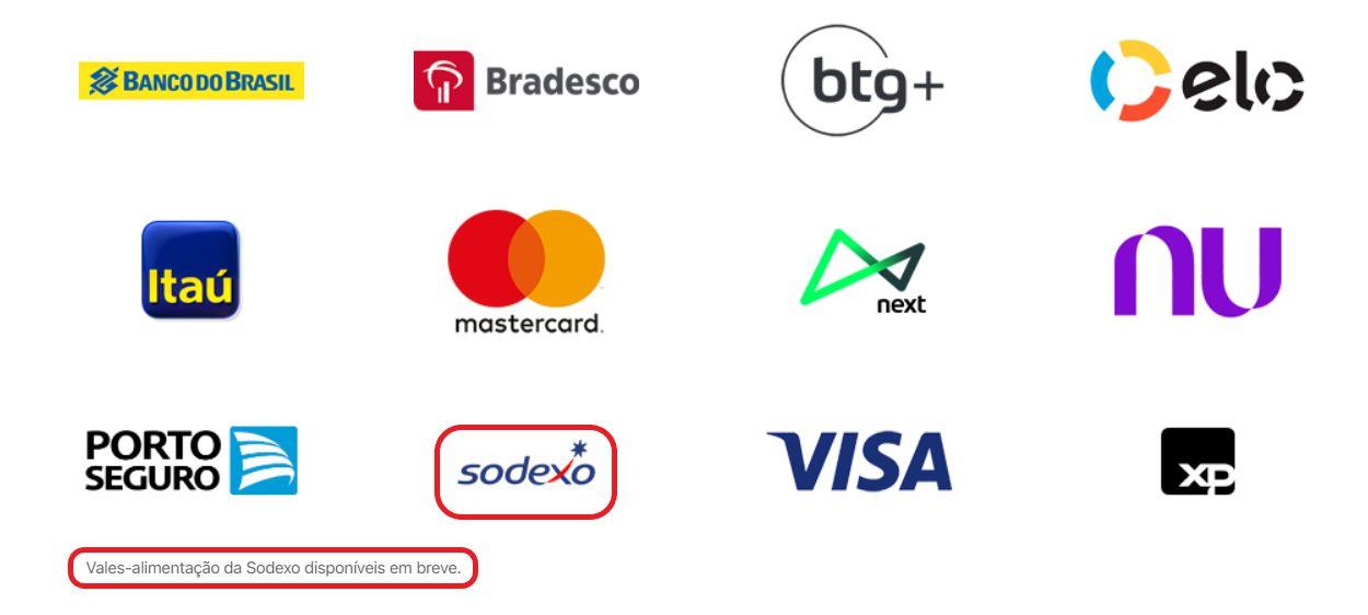 Cartões Apple Wallet