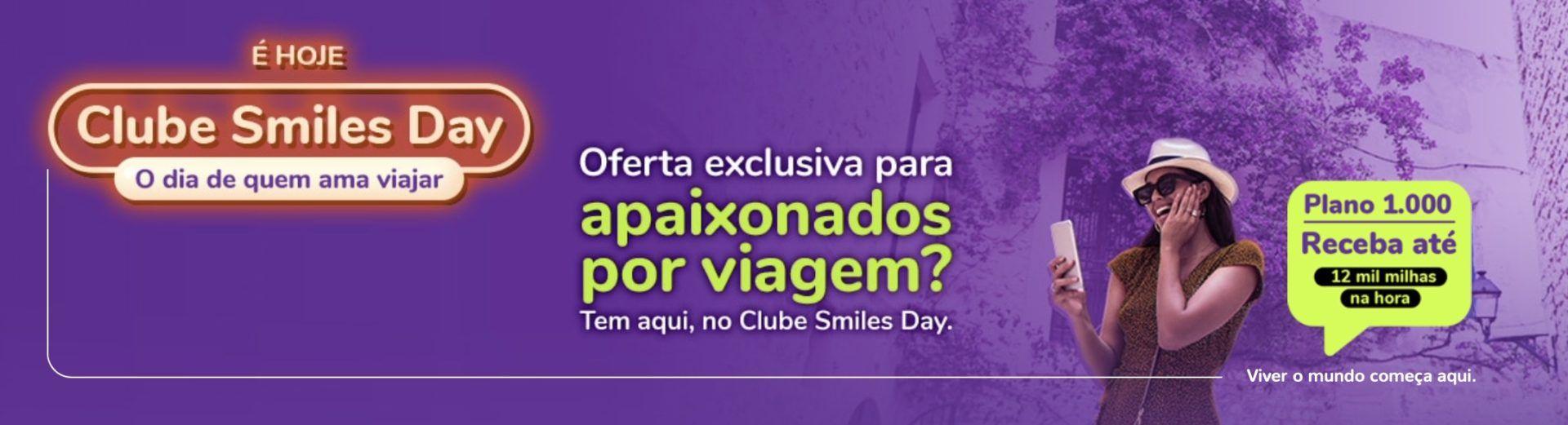 Smiles Day milhas Clube
